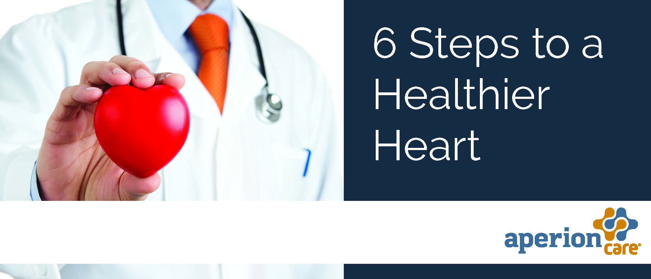 6 Steps to a Healthier Heart
